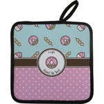 Donuts Pot Holder w/ Name or Text