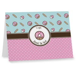 Donuts Notecards (Personalized)