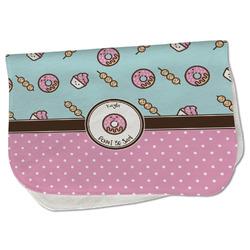 Donuts Burp Cloth - Fleece w/ Name or Text