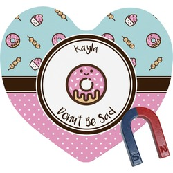 Donuts Heart Fridge Magnet (Personalized)