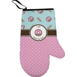 Donuts Right Oven Mitt (Personalized)