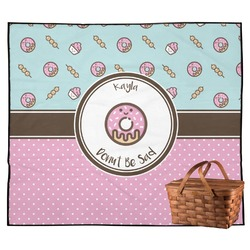 Donuts Outdoor Picnic Blanket (Personalized)