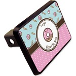 """Donuts Rectangular Trailer Hitch Cover - 2"""" (Personalized)"""