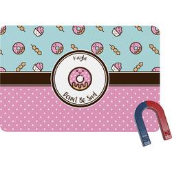 Donuts Rectangular Fridge Magnet (Personalized)