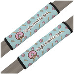 Donuts Seat Belt Covers (Set of 2) (Personalized)