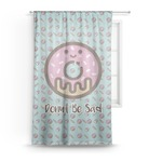 Donuts Sheer Curtains (Personalized)