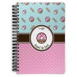 Donuts Spiral Bound Notebook (Personalized)