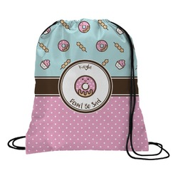 Donuts Drawstring Backpack (Personalized)