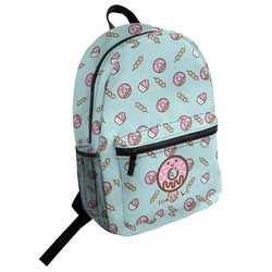 Donuts Student Backpack (Personalized)