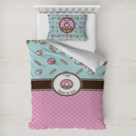 Donuts Toddler Bedding w/ Name or Text
