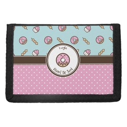 Donuts Trifold Wallet (Personalized)