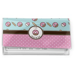 Donuts Vinyl Checkbook Cover (Personalized)