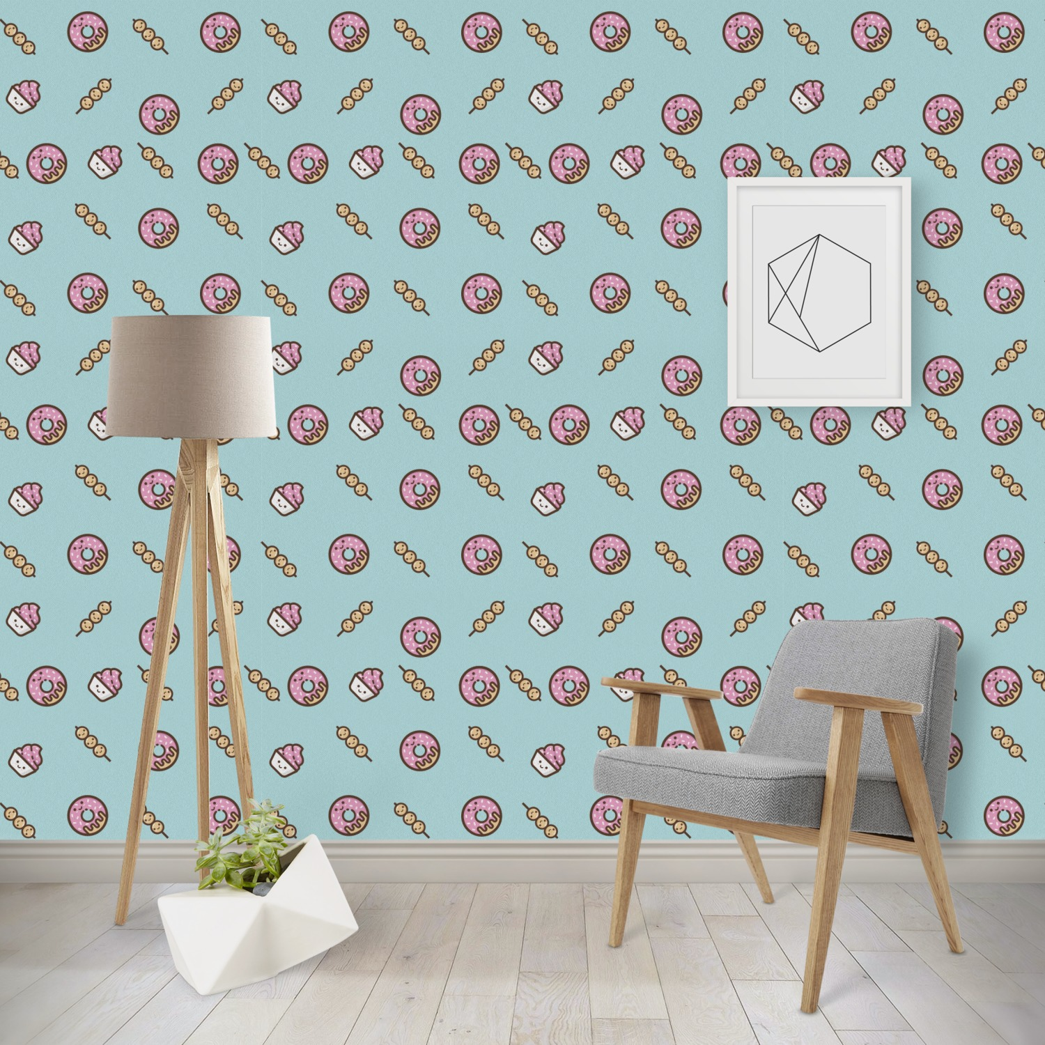Donuts Wallpaper Surface Covering Peel Stick