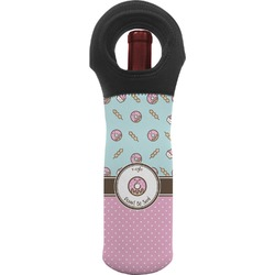 Donuts Wine Tote Bag (Personalized)
