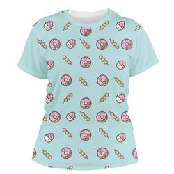 Donuts Women's Crew T-Shirt (Personalized)