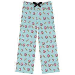 Donuts Womens Pajama Pants (Personalized)