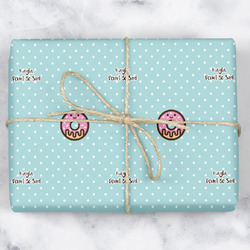 Donuts Wrapping Paper (Personalized)