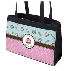 Donuts Zippered Everyday Tote (Personalized)