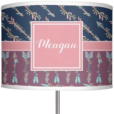"Tribal Arrows 13"" Drum Lamp Shade (Personalized)"