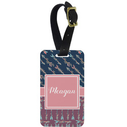 Tribal Arrows Aluminum Luggage Tag (Personalized)