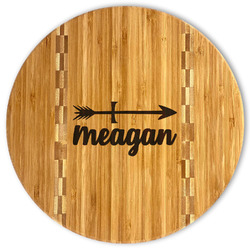 Tribal Arrows Bamboo Cutting Board (Personalized)