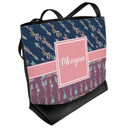 Tribal Arrows Beach Tote Bag (Personalized)