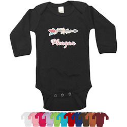 Tribal Arrows Bodysuit - Black (Personalized)