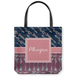 Tribal Arrows Canvas Tote Bag (Personalized)