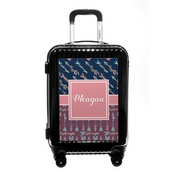 Tribal Arrows Carry On Hard Shell Suitcase (Personalized)
