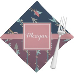 Tribal Arrows Cloth Napkins (Set of 4) (Personalized)