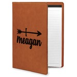 Tribal Arrows Leatherette Portfolio with Notepad (Personalized)