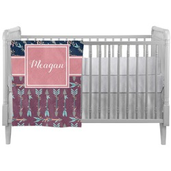 Tribal Arrows Crib Comforter / Quilt (Personalized)