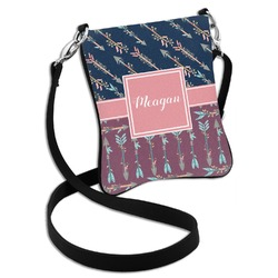 Tribal Arrows Cross Body Bag - 2 Sizes (Personalized)