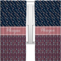 Tribal Arrows Curtains (2 Panels Per Set) (Personalized)