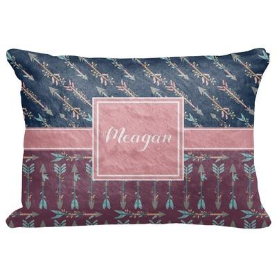 "Tribal Arrows Decorative Baby Pillowcase - 16""x12"" (Personalized)"