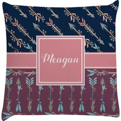 Tribal Arrows Decorative Pillow Case (Personalized)