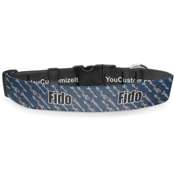 """Tribal Arrows Deluxe Dog Collar - Toy (6"""" to 8.5"""") (Personalized)"""
