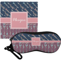 Tribal Arrows Eyeglass Case & Cloth (Personalized)