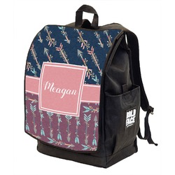 Tribal Arrows Backpack w/ Front Flap  (Personalized)