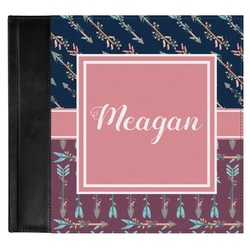 Tribal Arrows Genuine Leather Baby Memory Book (Personalized)