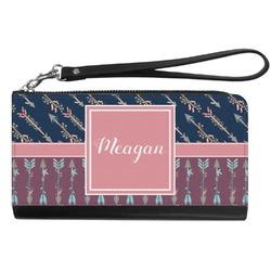 Tribal Arrows Genuine Leather Smartphone Wrist Wallet (Personalized)
