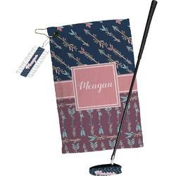 Tribal Arrows Golf Towel Gift Set (Personalized)