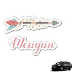 Tribal Arrows Graphic Car Decal (Personalized)