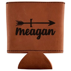Tribal Arrows Leatherette Can Sleeve (Personalized)