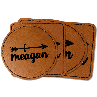 Tribal Arrows Faux Leather Iron On Patch (Personalized)