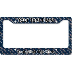 Tribal Arrows License Plate Frame (Personalized)
