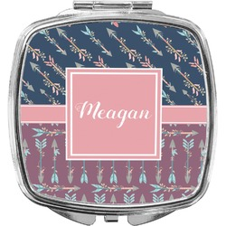 Tribal Arrows Compact Makeup Mirror (Personalized)