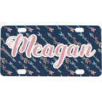 Tribal Arrows Mini / Bicycle License Plate (Personalized)