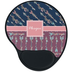 Tribal Arrows Mouse Pad with Wrist Support