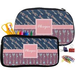 Tribal Arrows Pencil / School Supplies Bag (Personalized)